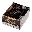 9MM LUGER +P 124GR GOLD DOT HP 20/BOX