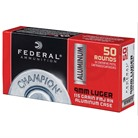 CHAMPION ALUMINUM 9MM LUGER 115GR FMJ AMMO