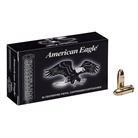 AMERICAN EAGLE 9MM LUGER 124GR FMJ SUBSONIC AMMUNITION