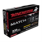 MATCH 308 WINCHESTER RIFLE AMMO