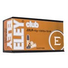 CLUB AMMO 22 LONG RIFLE 40GR LEAD ROUND NOSE