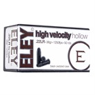 HIGH VELOCITY HOLLOW AMMO 22 LONG RIFLE 40GR LEAD HOLLOW POINT