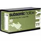 SUBSONIC HOLLOW AMMO 22 LONG RIFLE 40GR LEAD HOLLOW POINT