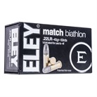 MATCH BIATHLON AMMO 22 LONG RIFLE 40GR LEAD FLAT NOSE