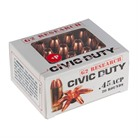 G2R CIVIC DUTY 45 ACP AMMO