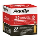 SUPER EXTRA HV 22 LONG RANGE COPPER PLATED HOLLOW POINT AMMO