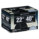 RANGE & FIELD AMMO 22 LONG RIFLE 40GR LEAD ROUND NOSE