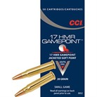 GAMEPOINT AMMO 17 HMR 20GR JACKETED SOFT POINT