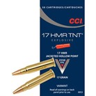 TNT EXPLOSIVE AMMO 17 HMR 17GR JACKETED HOLLOW POINT