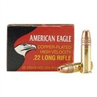 AMERICAN EAGLE AMMO 22 LONG RIFLE 38GR COPPER PLATED HP