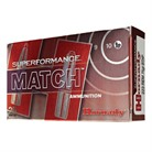 SUPERFORMANCE MATCH <b>AMMO</b> <b>223</b> REMINGTON 75GR HPBT