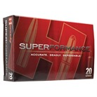 HORNADY SUPERFORMANCE 308 WIN 150 GR SST, 20 CT