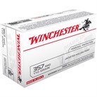 USA WHITE BOX AMMO 357 MAGNUM 110GR JHP
