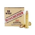 WILDCAT AMMO 22 WINCHESTER RIMFIRE (WRF) 45GR LEAD FLAT NOSE