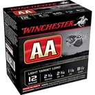 "AA LIGHT TARGET AMMO 12 GAUGE 2-3/4"" 1-1/8 OZ #8.5 SHOT"