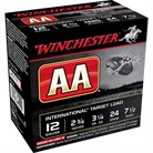 "AA TARGET EXTRA LIGHT AMMO 12 GAUGE 2-3/4"" 1 OZ #7.5 SHOT"