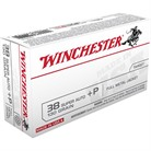 USA WHITE BOX AMMO 38 SUPER +P 130GR FMJ