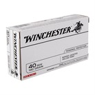 USA WHITE BOX AMMO 40 S&W 180GR JHP BONDED