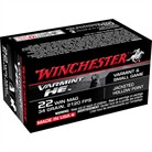 WINCHESTER VARMINT HIGH ENERGY RIMFIRE AMMUNITION