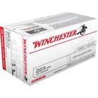 USA WHITE BOX AMMO 223 REMINGTON 45GR JHP
