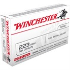 USA WHITE BOX AMMO 223 REMINGTON 55GR FMJ