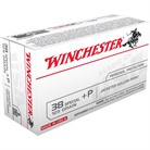 USA WHITE BOX AMMO 38 SPECIAL +P 125GR JHP