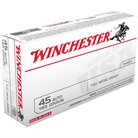 USA WHITE BOX AMMO 45 ACP 185GR FMJ-FN