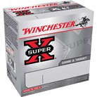 "SUPER-X GAME & TARGET AMMO 410 BORE 2-3/4"" 3/8 OZ #6 SHOT"
