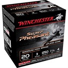 "SUPER PHEASANT AMMO 20 GAUGE 3"" 1-1/4 OZ #4 SHOT"