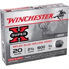 "SUPER-X AMMO 20 GAUGE 2-3/4"" 3/4 OZ RIFLED SLUG"