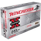 SUPER-X AMMO <b>243</b> <b>WINCHESTER</b> 80GR POINTED SP