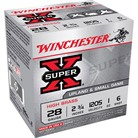 "SUPER-X HIGH BRASS AMMO 28 GAUGE 2-3/4"" 1 OZ #6 SHOT"