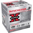 "SUPER-X HIGH BRASS AMMO 28 GAUGE 2-3/4"" 1 OZ #8 SHOT"