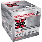 "SUPER-X HIGH BRASS AMMO 410 BORE 3"" 11/16 OZ #4 SHOT"