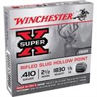 "SUPER-X AMMO 410 BORE 2-1/2"" 1/5 OZ RIFLED SLUG"