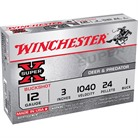 "SUPER-X BUCKSHOT AMMO 12 GAUGE 3"" #1 SHOT"