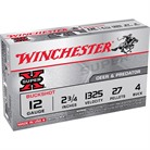 "SUPER-X BUCKSHOT AMMO 12 GAUGE 2-3/4"" #4 SHOT"