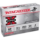 "SUPER-X BUCKSHOT AMMO 12 GAUGE 3-1/2"" #4 SHOT"