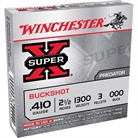 "SUPER-X BUCKSHOT AMMO 410 BORE 2-1/2"" #000 SHOT"