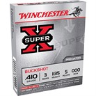 "SUPER-X BUCKSHOT AMMO 410 BORE 2-3/4"" #000 SHOT"