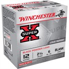 "SUPER-X BLACK POWDER AMMO 12 GAUGE 2-3/4"" BLANK SHOT"