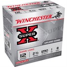 "SUPER-X HEAVY GAME LOAD AMMO 12 GAUGE 2-3/4"" 1 OZ #8 SHOT"