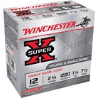 "SUPER-X HEAVY GAME LOAD AMMO 12 GAUGE 2-3/4"" 1-1/4 OZ #7.5 SHOT"