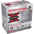 "SUPER-X HEAVY GAME LOAD AMMO 12 GAUGE 2-3/4"" 1-1/4 OZ #8 SHOT"