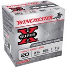 "SUPER-X HEAVY GAME LOAD AMMO 20 GAUGE 2-3/4"" 1 OZ #7.5 SHOT"