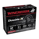 "DOUBLE X TURKEY AMMO 12 GAUGE 3-1/2"" 2-1/4 OZ #4 SHOT"