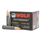 POLYFORMANCE AMMO 7.62X39MM 123GR FMJ