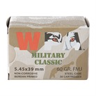 MILITARY CLASSIC AMMO 223 REMINGTON 55GR FMJ