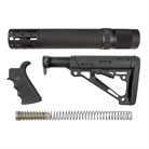 AR-15 RIFLE LENGTH FURNITURE SET MIL-SPEC BLACK