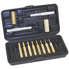 MASEN BRASS HAMMER & PUNCH SET